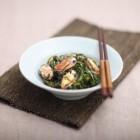 すき昆布と赤貝の酢味噌和え